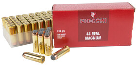 Fiocchi 44 REM MAG SJSP 240gr Semi-jacketed Soft Point