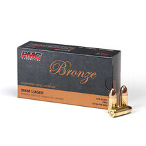 PMC Bronze 9mm Luger 124gr  FMJ